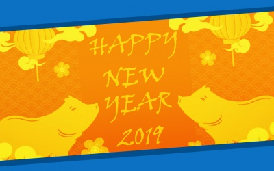 Happy New Year – Year of the Pig