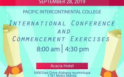 Welcome to International Conference and Commencement Ceremony